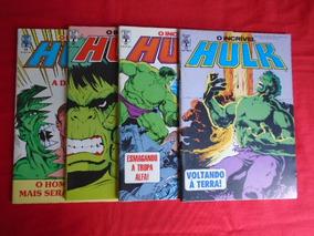 O Incrível Hulk - Nºs 64, 65, 66, 68 (banca) Frete Grátis