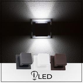 Arandela Box Pequena Led 5w Ar5 Lampada Inclusa Uso Externo