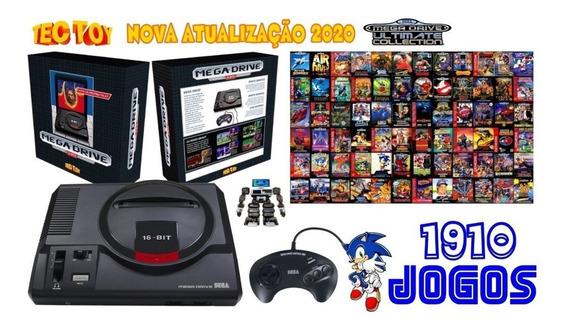 Sega Mega Drive Clássico Genesis C/ 1910 Jogos P. Entrega