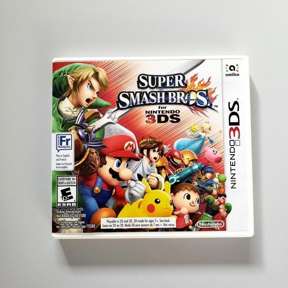 Super Smash Bros 3ds Original Nintendo 3ds
