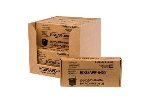 Bolsa Eco Compostable (90 Pack) Certificada 2.5 Galones