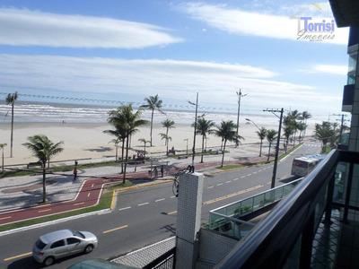Apartamento Em Praia Grande. Vist Mar Com 03 Dormitórios, Sendo 02 Suítes Na Guilhermina. Ref. Ap0609 - Ap0609
