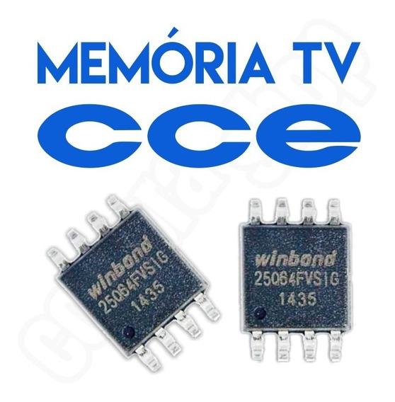 Memoria Flash Tv Cce Ln244 Chip Gravado