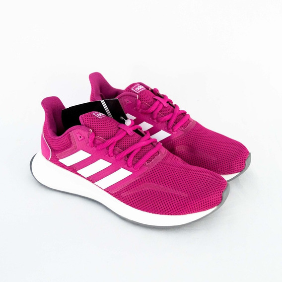 Tênis adidas Feminino Cl0322 Falcon W Pink Original
