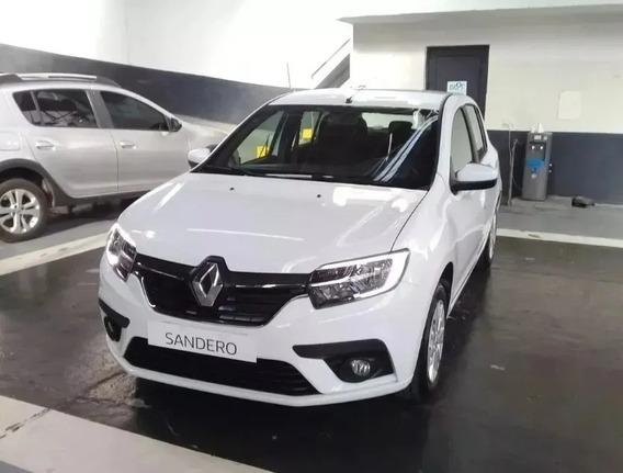 Renault Sandero Life 1.6 16v - Patentado 2020 (juan)
