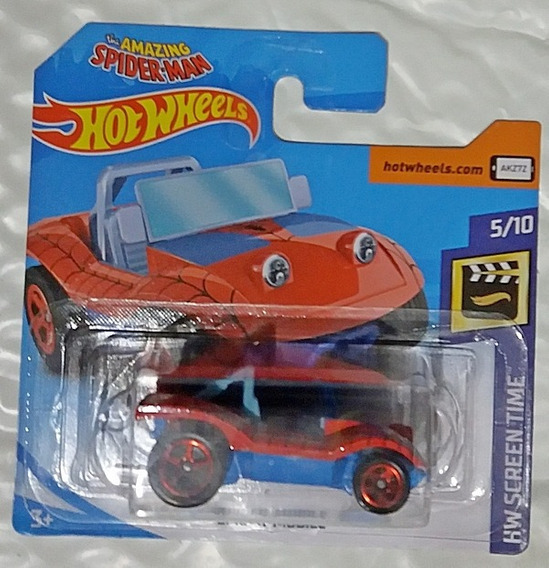 Spider Mobile Hot Wheels 2019 Screen Time 146/250