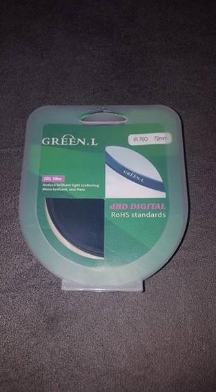 Filtro Infravermelho Green L 72mm Usado Para Lentes 200mm