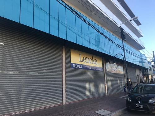 Imagen 1 de 6 de Lencke Alquila - Excelente Local Sobre Avenida Apto Bancos, Agencia De Autos, Supermercado.