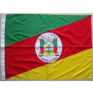 Bandeira Rio Grande Do Sul Oficial 128 X 90cm Alta Qualidade