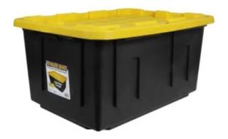2 Cajas Plástico Almacenamiento Profesional 102 L. Uso Rudo