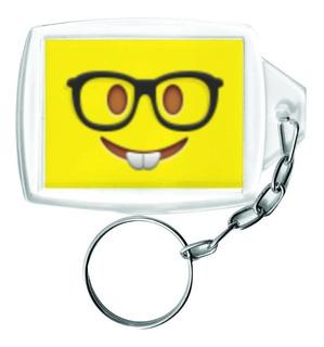 Chaveiro Emoji Acrílico Personalizado 58 Peças