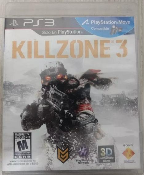 Jogo Ps3 : Killzone 3 - Midia Fisica Seminovo Original
