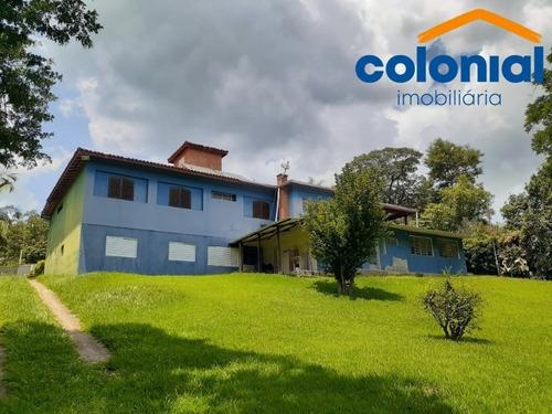 Linda Chácara Com 5.000 M² E Casa De 360 M², Mursa, Várzea Paulista, Sp - Ch00091 - 68748907