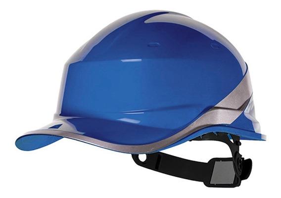 Capacete De Segurança Diamond V Azul Baseball