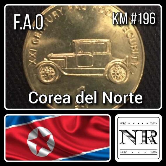 Corea Del Norte - 1 Chon - Año 2002 - Diseño Auto Km #196