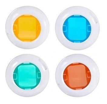Kit Com 4 Lentes Coloridas Para Filtro Instax Mini 7s/8/9