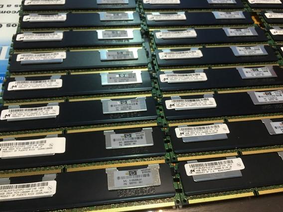 Memória Ecc Reg 4gb Pc3-10600r Hp Workstation Z600 Z800