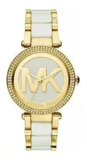 Relógio Michael Kors Parker Feminino Analógico Mk6313/5bn