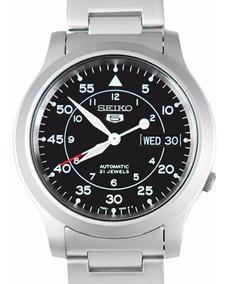 Relógio Seiko Estilo Militar Automático Snk809 K1 Yy