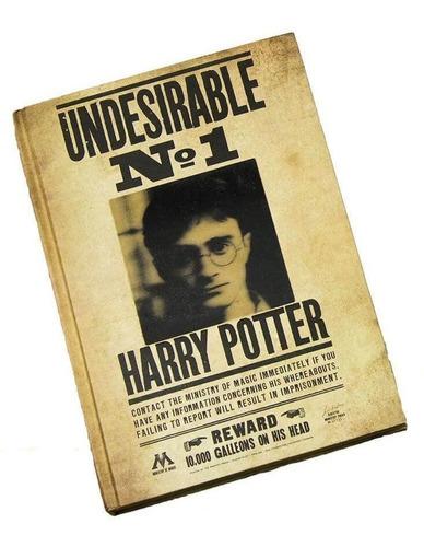 Libreta Lenticular Harry Potter