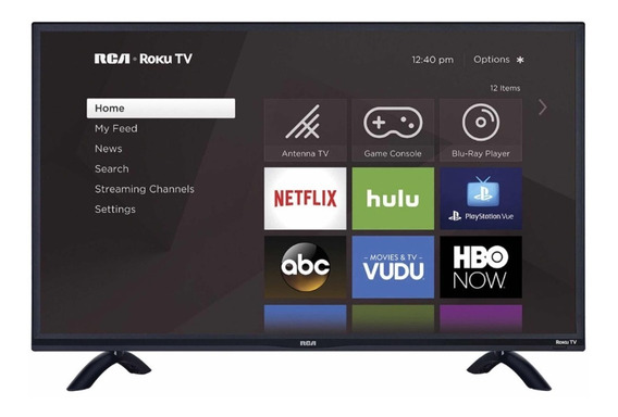 Lcd Led Smat Tv 55 Rca Roku 4k Ultra Hd