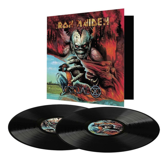 Lp Duplo 180g Iron Maiden - Virtual Xi 2017 Lacrado