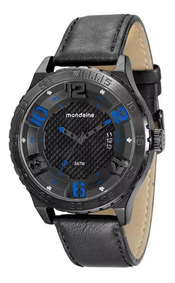 Relógio Mondaine Analógico Couro 76634gpmvsh1 Masculino