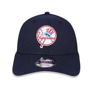 Boné New Era 940 Trucker New York Yankees Azul Marinho Mlb