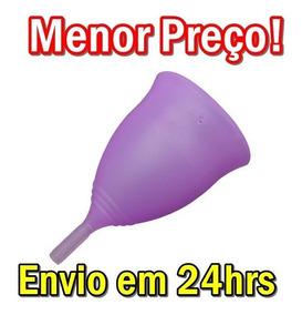 Copo Coletor Menstrual Ecológico + Saquinho Frete 20,99
