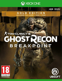 Ghost Recon Breakpoint Gold Xbox One Online Permanente