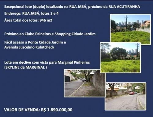 Terrenos À Venda  Em São Paulo/sp - Compre O Seu Terrenos Aqui! - 1170654
