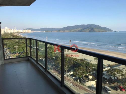 Imagem 1 de 23 de Apartamento À Venda, 258 M² Por R$ 2.750.000,00 - Boqueirão - Santos/sp - Ap8826