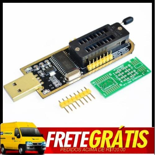 Gravador De Eeprom Usb Flash Bios Series 24 E 25 C Software