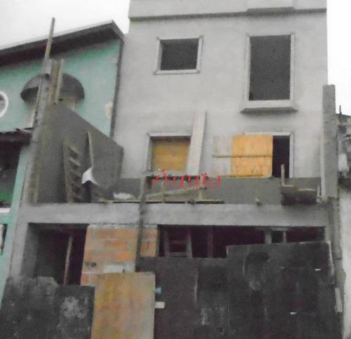 Cobertura Com 2 Dormitórios À Venda, 50 M² Por R$ 306.000 - Jardim Santo Alberto - Santo André/sp - Co0692