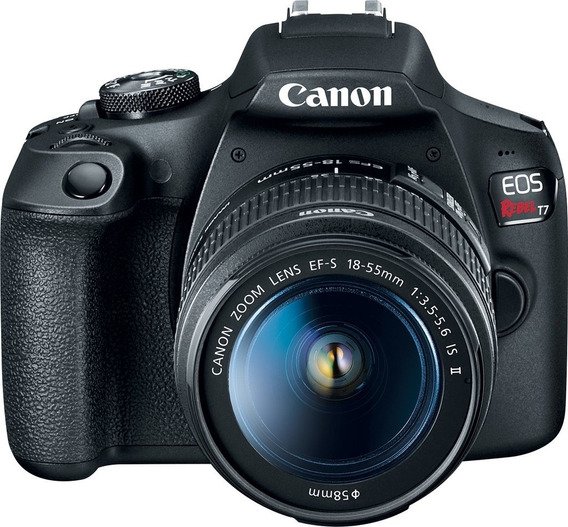 Camara Reflex Canon T7 18-55mm Is Ii