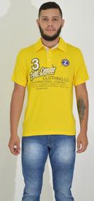 Camiseta Masculina Polo Manga Curta 1039