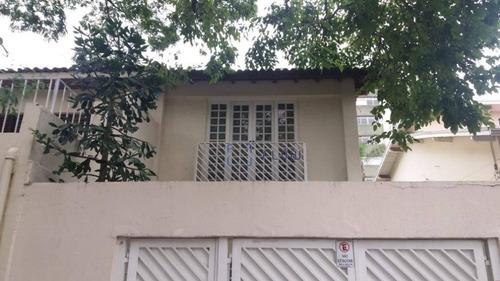Imagem 1 de 25 de Sobrado Comercial De 300m² Com 5 Salas, 4 Banheiros E 2 Vagas De Garagem - Moema - Ca1045