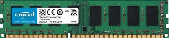 Memoria Crucial P/pc Ddr3l 4gb 1600mhz Udimm Ct51264bd160bj