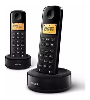 Telefone Philips Duo D130 Com Identificador De Chamadas