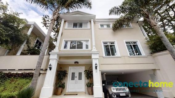 Casa Em Condomínio De 450 M², 4 Dormitórios E 4 Vagas No Brooklin - Zs1522al