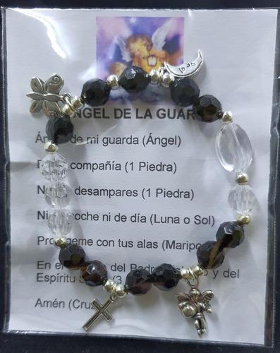Pack 50 Pulsera Del Ángel De La Guarda Adulto, Hecha A Mano