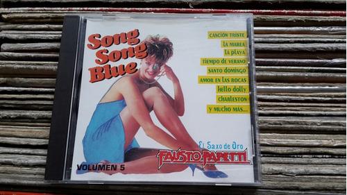 Imagen 1 de 2 de Fausto Papetti El Saxo De Oro Song Song Blue