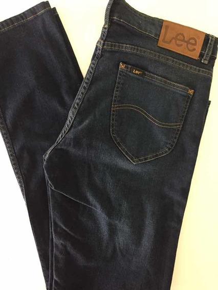 Jean Lee Chase Chupín Extremo Azul Elastizado Muy Top Slim