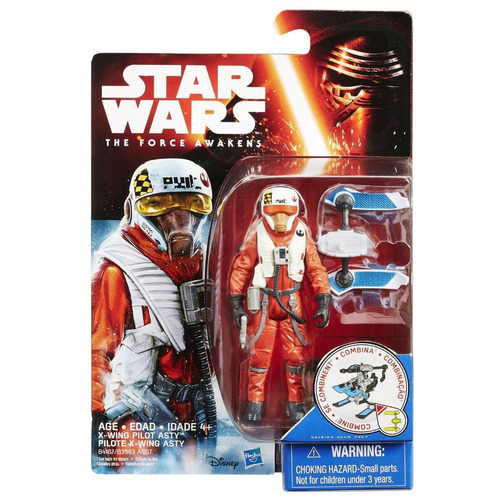 Star Wars The Force Awakens X Wing Pilot Asty