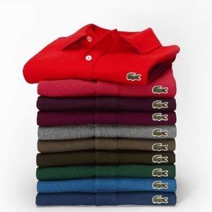 Kit Com 10 Camisetas Polos Da Lacoste + Frete Grátis!