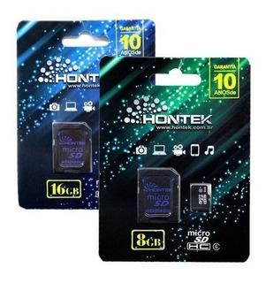Cartão De Memória Hontek 8 Gb Original Cód. C-hontek8