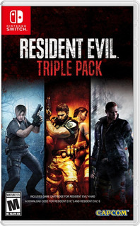 Resident Evil Triple Pack Nintendo Switch Playking