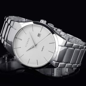 Relógio Mascul Curren Importado Original 8106 Prata Garantia