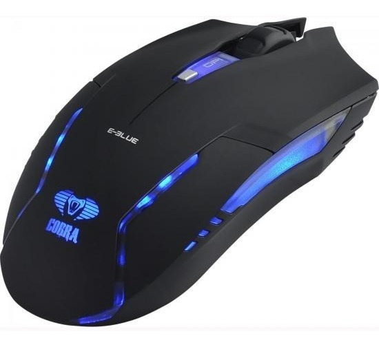E-blue - Mouse Optico Cobra Ii 1600 Dpi - Ems151bk
