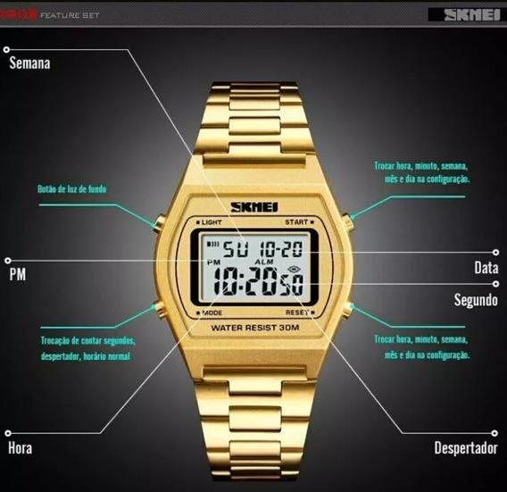 Relógio Sk 1328 Digital Feminino